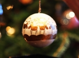 Reindeers, Christmas Tree Decoration, 8 x 6 Photo Print