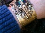 Victorian Style Cuff Bracelet Vintage SteamPunk Exclusive Design