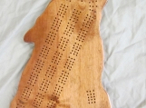 Wolf cribbage board