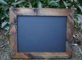"Natural stained Frame Chalk Board 18""x22"""
