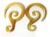 Earrings Handmade Organic Horn