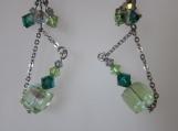 toto green earrings