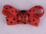 Ladybug Dreams No Slip Baby and Toddler Bow