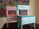 Personalized Storage Chairs