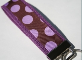 Purple Dot Key Fob