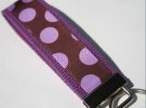 Purple Dot Key Fob