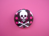 Skull and Dots Pin