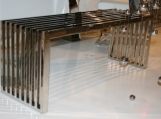 Stainless Steel Polished Bench