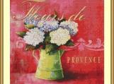 Fleurs De Provence Cross Stitch Pattern