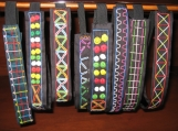 African embroidered headbands