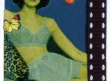 Woman in Vintage Lingerie ACEO Collage