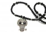Big eyed owl necklace