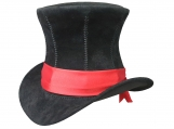 Corset Steampunk Leather Top Hat