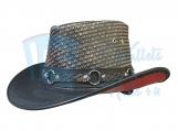 Cowboy 2 Tone Leather Hat SR2 Band