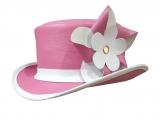 Ladies Leather Top Hat