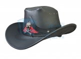 Rodeo King Cowboy Leather Hat