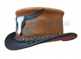 Rodeo Leather Top Hat