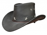 Sheriff Leather Hat