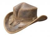 Wicked Rambler Leather Hat