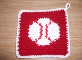 Baseball Potholder