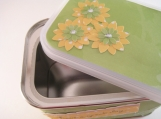 Green and Yellow Gift Tin