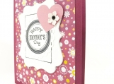 Mother's Day Card in purple