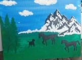 Canvas decor