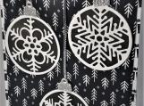 Christmas Card Ornaments Box of 6