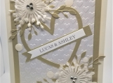 Personalized Wedding or Anniversary Card