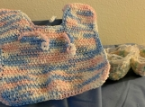 Baby Booties and Bib