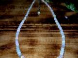 3mm-9mm Ethiopian Fire Opal Beaded Necklace