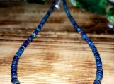 Black Opal Beaded Necklace