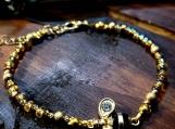 Bumblebee Beaded Bracelet