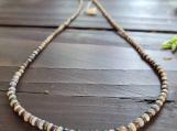 Ethiopian Welo Fire Opal & Black Opal Spinal Necklace