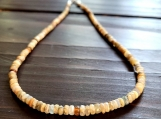 Natural Ethiopian Opal Welo Fire Opal Gemstone Beaded Choker