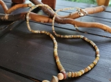Natural Ethiopian Welo Opal Necklace with Pendant