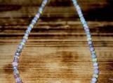 Peruvian Pink Opal & Ethiopian Fire Opal Beaded Necklace