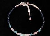 Sapphire & Opal Beaded Bracelet