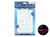 Hunkydory - Moonstone Cutting Dies - Textures Snowflake Sparkle