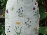 Countryside Flowers Gathering Apron - Upcycled fabrics