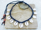 Ghana Cowrie Shell Copper Necklace