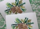 Christmas Pines Postcards (5)