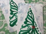 Christmas Tree Postcards (5)