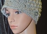 Marble Button Brim Hat