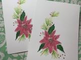 Poinsettia Postcards (5)