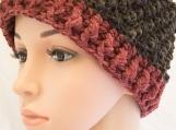 Red/Black Messy Bun Hat