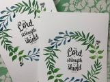 The Lord is my Strength Postcards (5)