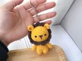 Finished Doll Amigurumi Animal Toys, Plush Toys Cotton Lion Toys