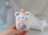 animal AirPods Case, Finished product, funny earphone cover, Kawaii knitted earphone cover, handmade, gift for her, gift for lovers