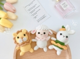 Finished Item, Animals Toy, High Quality Gift, Handmade Cute Toy, Gift For Child, Indoor Decoration For Birthday Present, Bed Ornaments